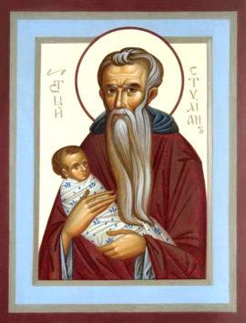 Преподобный Стилиан Пафлагонский – защитник детей