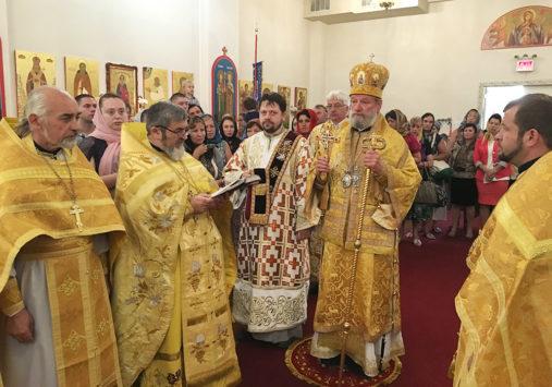 Бруклинский собор посетил почетный Митрополит Чешских земель и Словакии