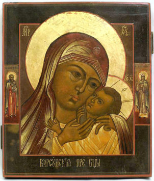 Корсунская (Шпилевская) икона Пресвятой Богородицы