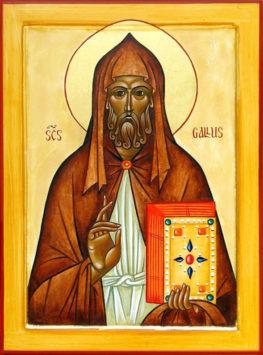 Преподобный Галл, просветитель Швейцарии