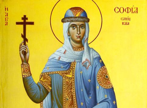 Святая княгиня София Слуцкая (+1612)