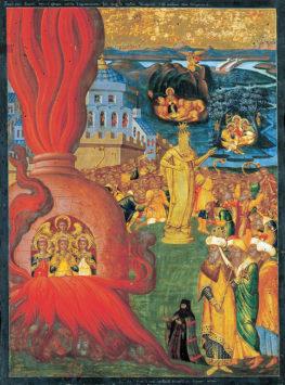 Память отроков Анании, Азарии и Мисаила (VII век до Р.Х.)
