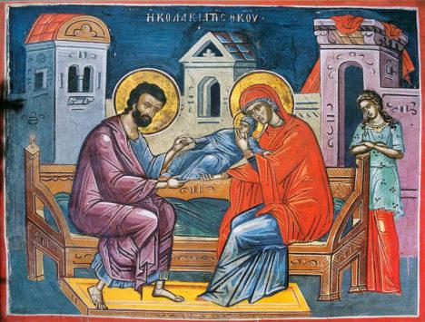 Зачатие праведной Анной Пресвятой Богородицы