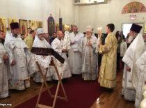 В день престольного праздника Бруклинского собора Первоиерарх Русской Зарубежной Церкви передал в дар собору часть мощей святого Иоанна Предтечи
