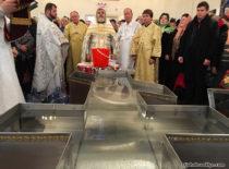 В день праздника Богоявления в Бруклинском соборе совершили великое освящение воды