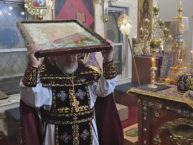 Богослужение Крестопоклонной недели в Бруклинском соборе
