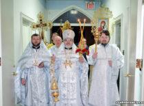 Верующие Бруклина встретили Светлое Христово Воскресение