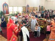 В день Рождества Иоанна Предтечи архиепископ Монреальский и Канадский Гавриил возглавил малый престольный праздник Бруклинского собора