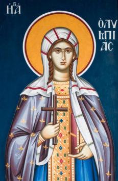Святая Олимпиада Константинопольская, диаконисса