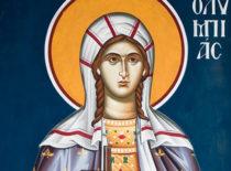 Святая Олимпиада Константинопольская, диаконисса (+409)