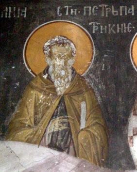Преподобный Петр Константинопольский