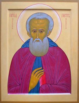 Преподобный Петр, царевич Ордынский (Ростовский) (+1290)