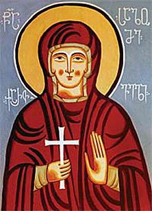 Мученица Саломея Грузинская (+1277)