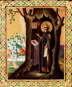 Преподобный Тихон Луховский