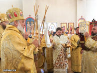 За архиерейским богослужением в Бруклинском соборе вознесли молитвы о предотвращении урагана «Ирма» и о мире в Украине