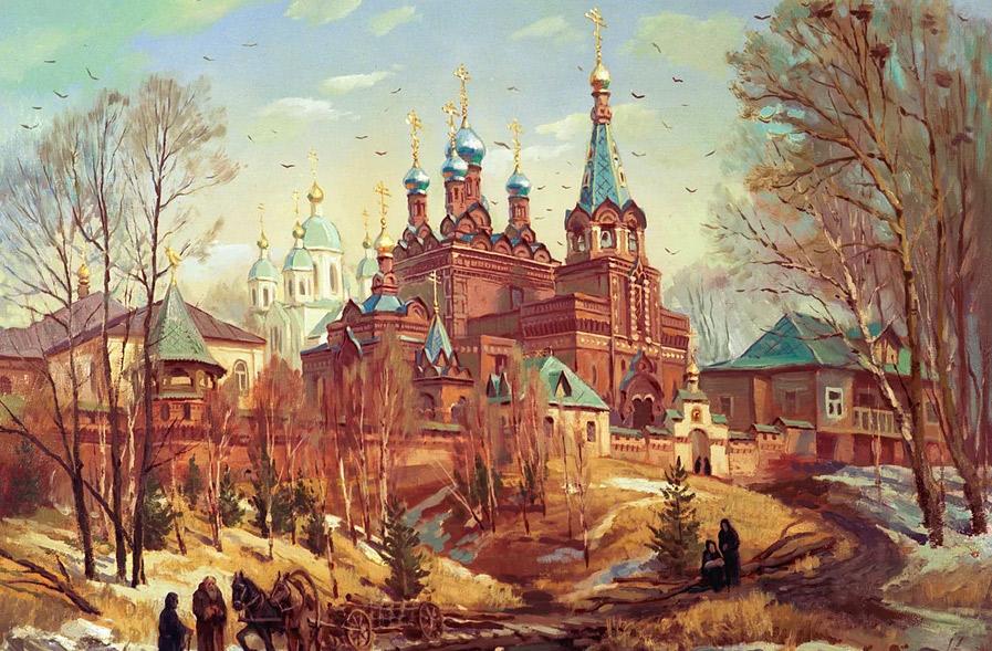 Абабковский Николае-Георгиевский женский монастырь