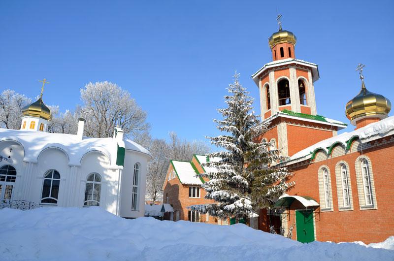 Иоанно-Богословский Лемешевский мужской монастырь