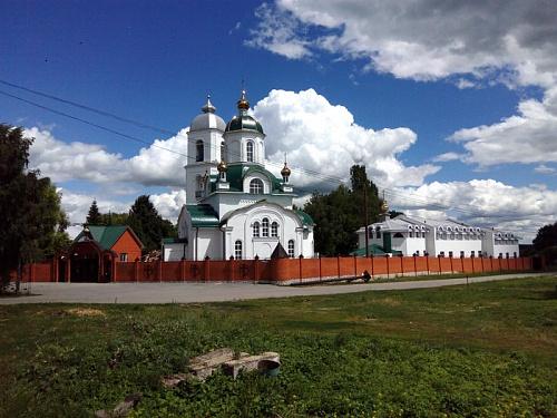 Благовещенский женский монастырь с. Ожога