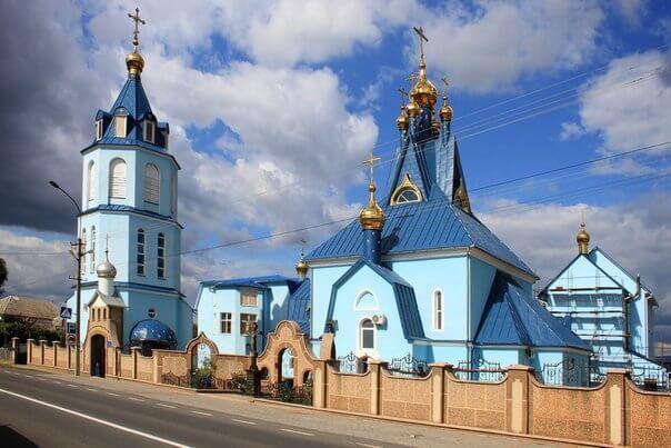 Покровский мужской монастырь с.Ракошино