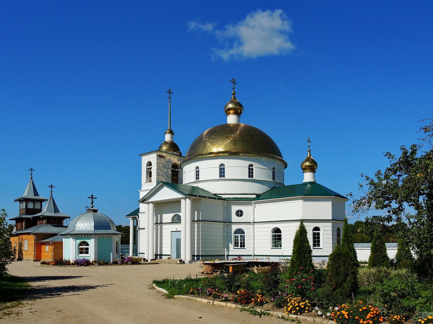 Спасо-Казанский Симанский монастырь