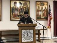 Доклад благочинного Нью-Йоркского округа протоиерея Александра Беля на пастырском совещании духовенства Восточно-Американской епархии в Джоржанвилле