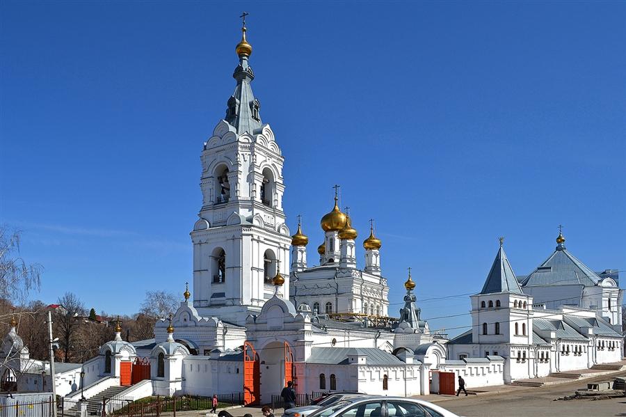 Пермский Свято-Троицкий Стефанов монастырь