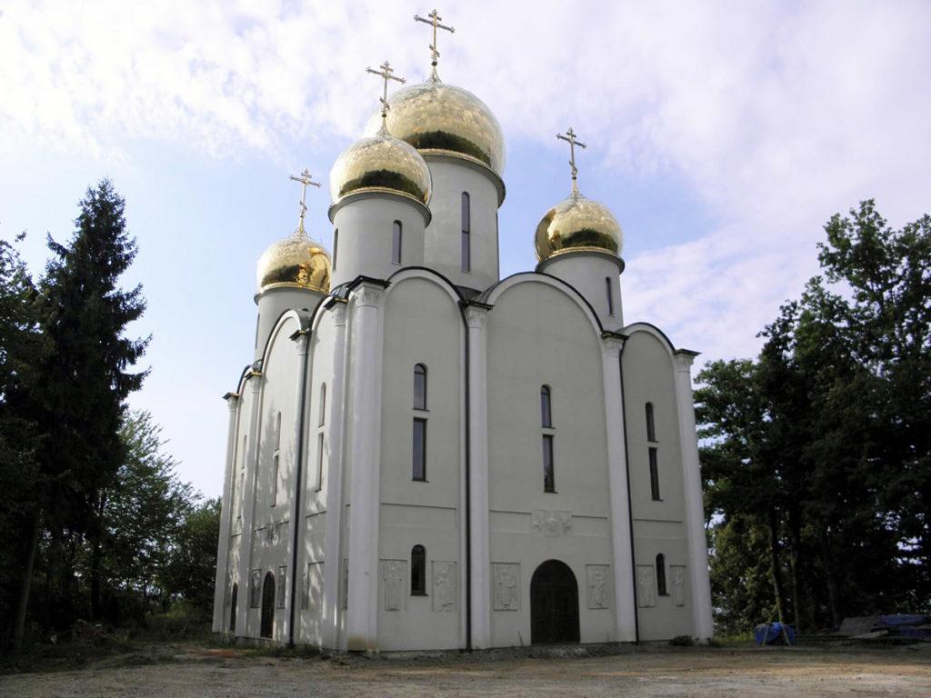 Преображенский мужской монастырь с. Теребля