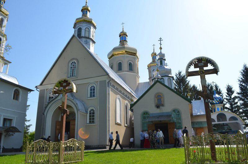 Вознесенский монастырь с. Чумалево