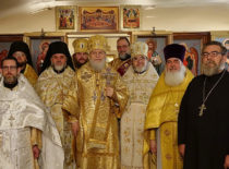 В день 100-летия убиения священномученика Владимира Киевского благочинный Нью-Йорка принял участие в архиерейском богослужении в Статен-Айленд