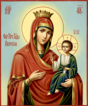 Иверская чудотворная икона Божией Матери