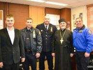 Состоялась встреча настоятеля Бруклинского собора с администрацией 61-го участка полиции Нью-Йорка