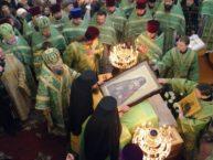 18 марта - Украина: в одном из монастырей Запорожской епархии на стекле отобразился образ святителя Иоанна Сан-Францисского и Шанхайского