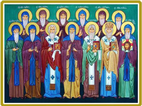 Преподобный Иоанн Зедазнийский и 12 учеников его (VI в.)