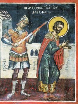 Мученик Александр Римский, воин (IV в.)