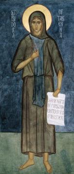 Преподобная Исидора юродивая (IV в.)