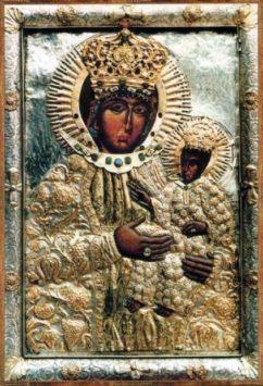 Межиричская икона Божьей Матери «Жизнеподательница»