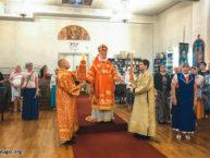Рождество Иоанна Предтечи: архиерейское богослужение в день малого престольного праздника Бруклинского собора