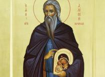 Преподобный Алипий иконописец (+1114)