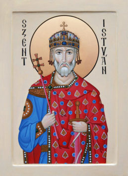 Праведный Стефан (Иштван), король Венгрии (+1033)
