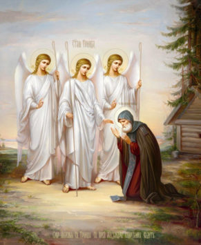 Преподобный Александр Свирский (+1533)