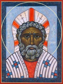 Преподобный Моисей Мурин (+405)