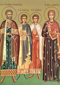 Великомученик Евстафий Плакида (II в.)