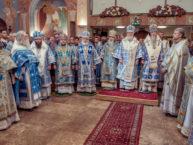 21 сентября – Лондон: Первоиерарх совершил освящение Рождество-Богородичного кафедрального собора