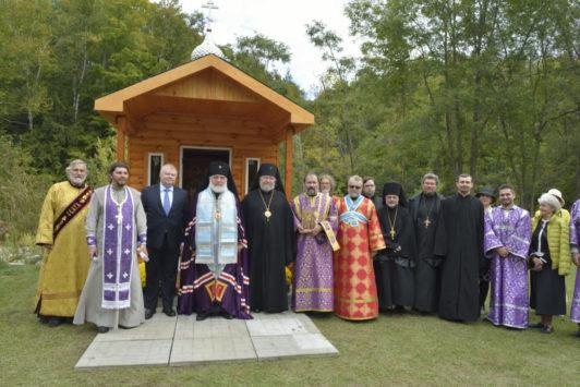 29 сентября – Торонто: В Джексонс Пойнте освящена часовня в честь Царственных Страстотерпцев