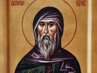 Преподобный Иоанникий Девичский (+1430)