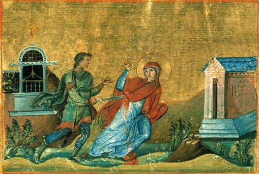 Мученица Анисия Фессалоникийская
