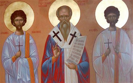 Священномученик Фруктуоз Таррагонский (+259)