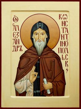 Преподобный Александр Константинопольский (+430)