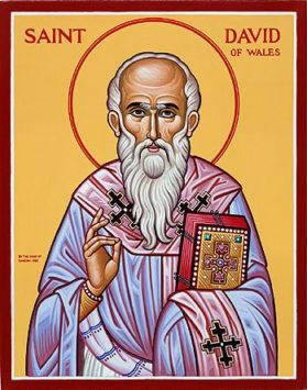 Святитель Давид Валлийский (VI в.)