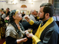 В Бруклинском соборе архиепископ Монреальский и Канадский Гавриил совершил Таинство Елеосвящения (Соборование)